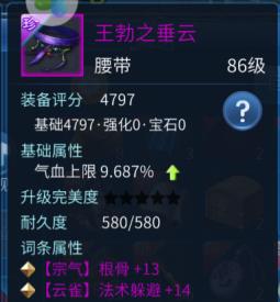 珍品紫色腰带求定价