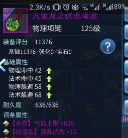 固定刀客之神紫装项链